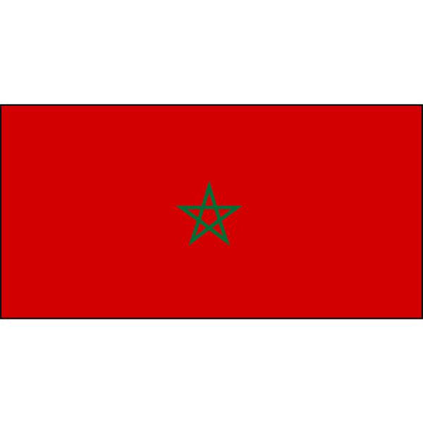 Morocco Flag 1800 x 900mm