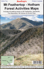 Mt Feathertop - Hotham - Forest Activities Map Rooftop