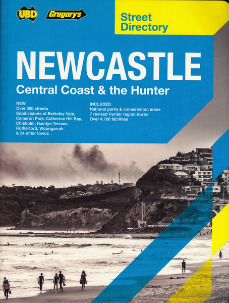 Newcastle Central Coast & The Hunter Street Directory UBD