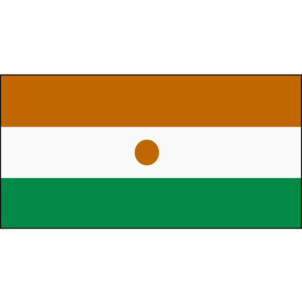 Niger Flag 1800 x 900mm
