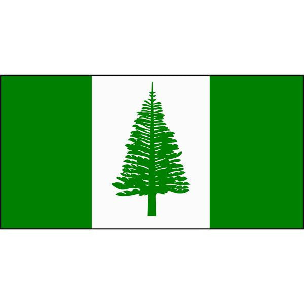 Norfolk Island Flag 1800 x 900mm