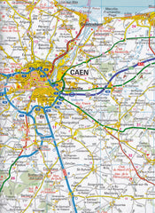 Normandy AA France Touring Map 2