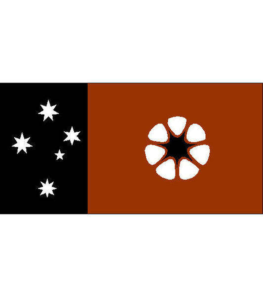 Northern Territory NT State Flag  (knitted) 3600 x 900mm