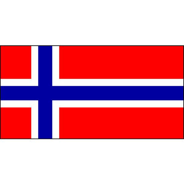 Norway Flag 1800 x 900mm