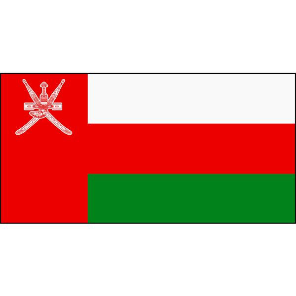 Oman Flag 1800 x 900mm
