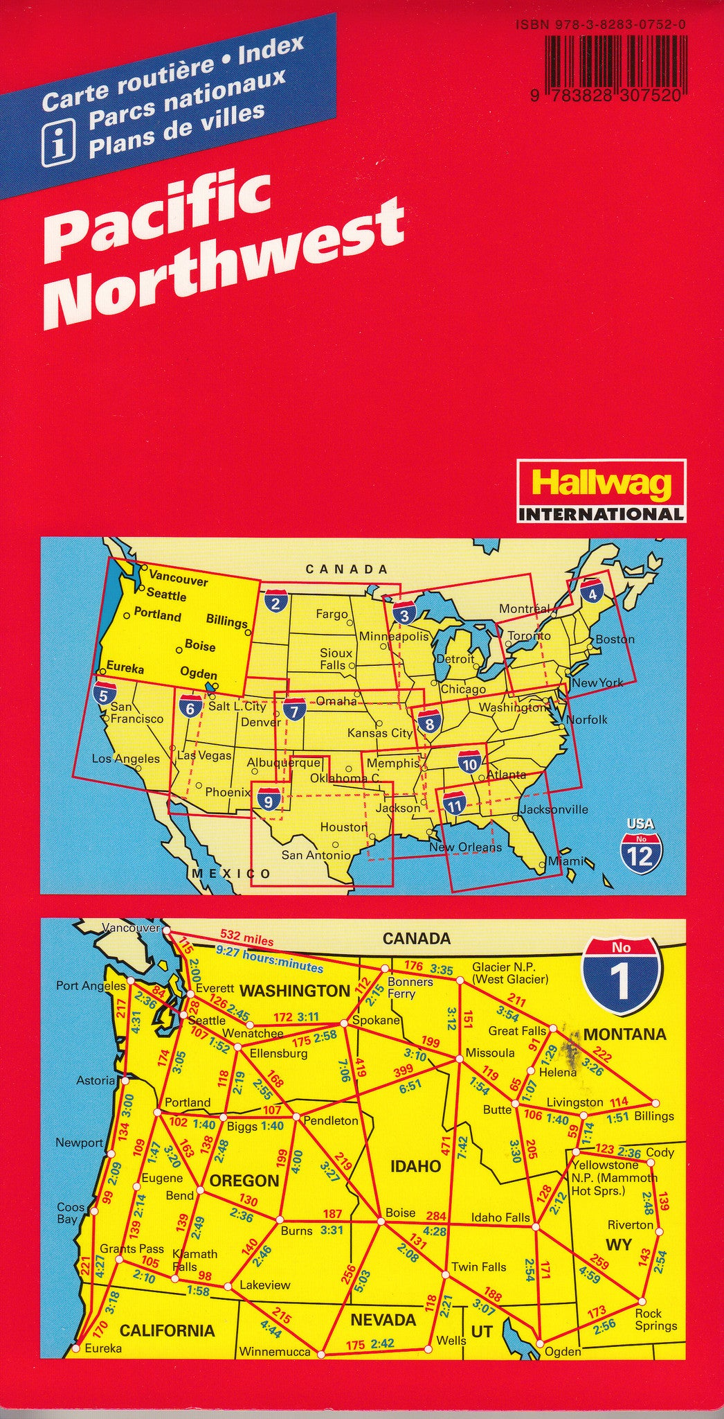 USA Road Maps Hallwag Buy Maps Of USA Mapworld - Usa map buy