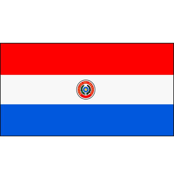 Paraguay (d/sided) Flag 1800 x 900mm
