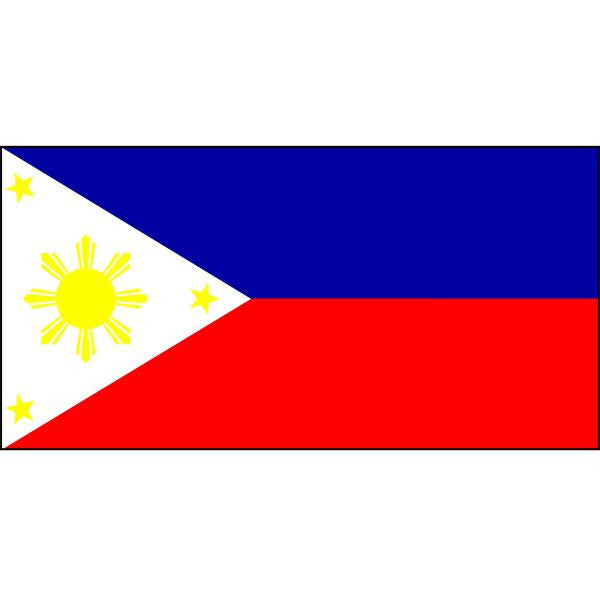Philippines Flag 1800 x 900mm