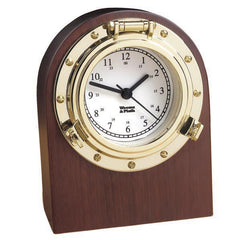 Porthole Desk Clock by Weems & Plath