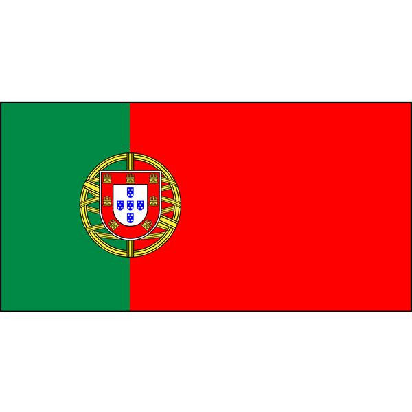 Portugal Flag 1800 x 900mm