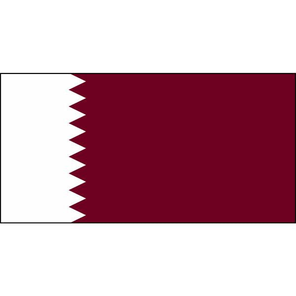 Qatar Flag 1800 x 900mm