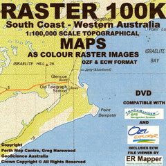 South Coast 100K Topo USB - Greg Harewood
