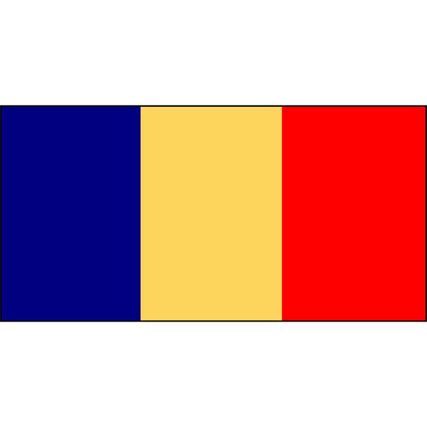 Romania Flag 1800 x 900mm
