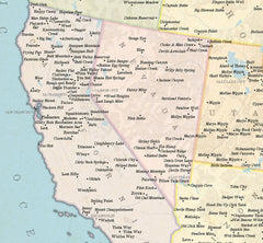 Marvellous Map of Genuine American Place Names