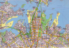 Melbourne UBD Real Estate Map 1:20k 2000 x 2000mm Laminated Wall Map