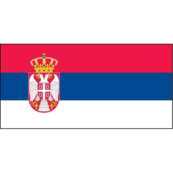 Serbia (Post 2010) Flag 1800 x 900mm