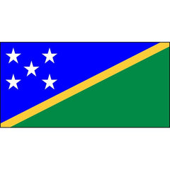 Solomon Islands Flag 1800 x 900mm