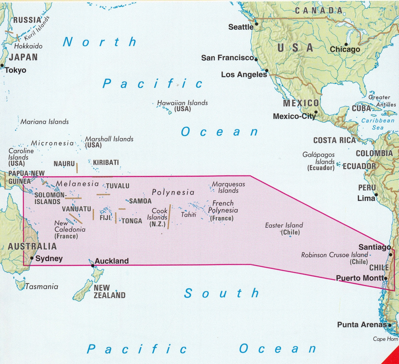 . south pacific islands nelles