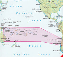 South Pacific Islands Nelles Map