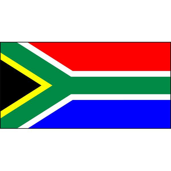 South Africa Flag 1800 x 900mm