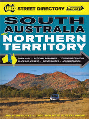 South Australia & Northern Territory Street Directory UBD