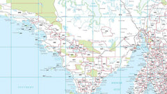 South Australia Postcode Map 788 x 1036mm