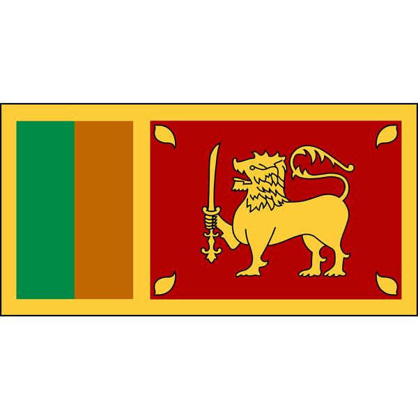 Sri Lanka Flag 1800 x 900mm