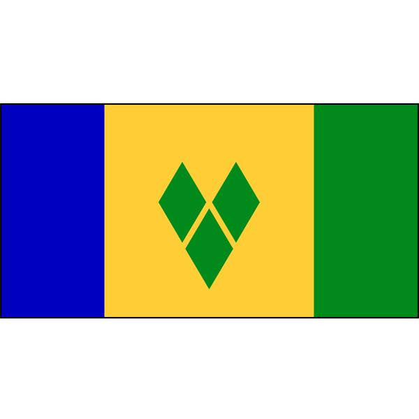 St Vincents and The Grenadines Flag 1800 x 900mm
