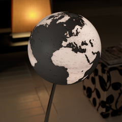 Stem Reflection Atmosphere Illuminated 30cm Floor Globe