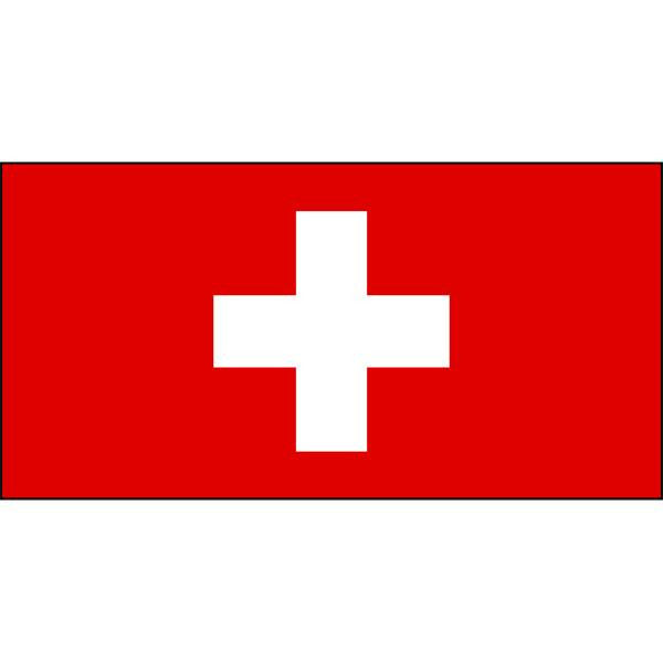 Switzerland Flag 1800 x 900mm