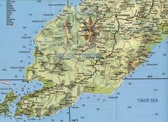 Timor Independent Travellers Map