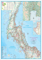 Bangkok & Thailand South ITMB - Thailand Map