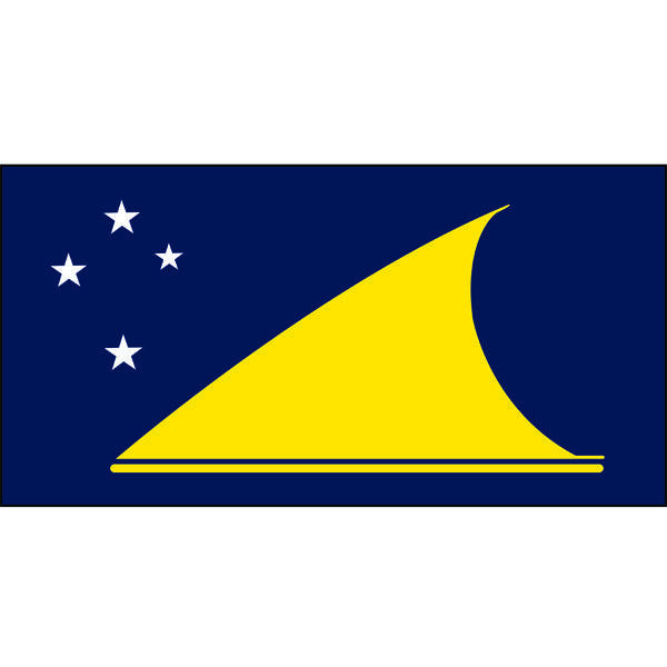 Tokelau Flag 1800 x 900mm
