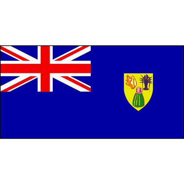 Turks and Caicos Islands Flag 1800 x 900mm