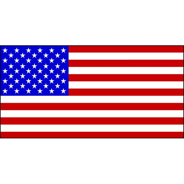 United States of America Flag 1800 x 900mm