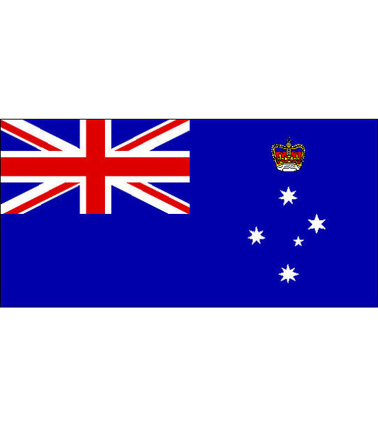 Vic State Flag Knitted 900 X 450mm
