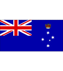 Victoria VIC State Flag (knitted) 2740 x 1370mm