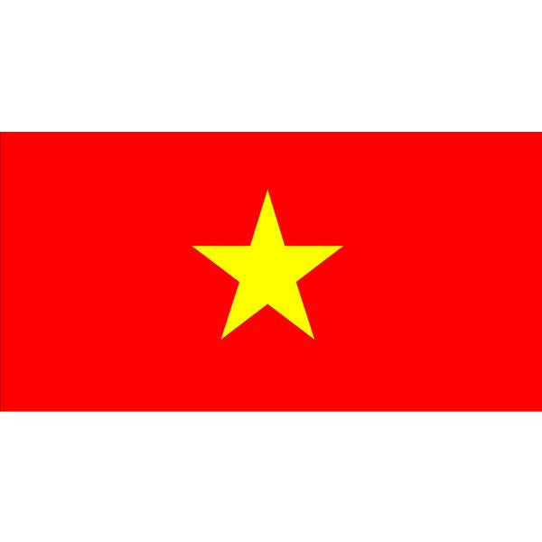 Vietnam Flag 1800 x 900mm