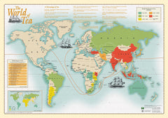 World of Tea by Oxford Cartographers
