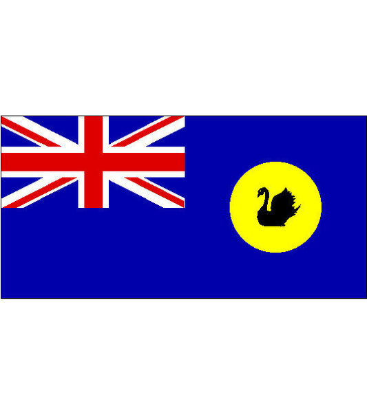 WA State Flag (knitted) 900 x 450mm