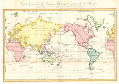 World Australia Centred 1834