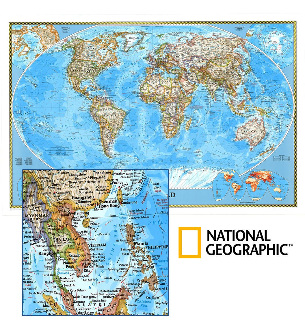 National Geographic World Political Map.World Political Ngs Buy World Political Map Mapworld