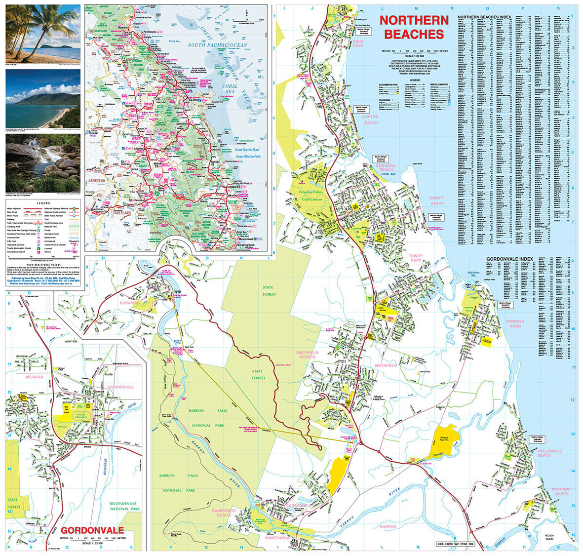 Cairns and Region Hema, Buy map of Cairns - Mapworld