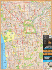 Adelaide City Streets & Suburbs UBD 562 Map