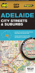 Adelaide City Streets & Suburbs Map UBD 562