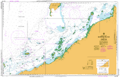 AUS 743 - Barrow Island to Onslow Nautical Chart