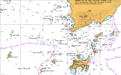 AUS 763 - Cape Le Grand to Cape Pasley Nautical Chart