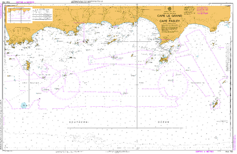 Marine charts maps guides free shipping buy online mapworld aus 763 cape le grand to cape pasley gumiabroncs Image collections