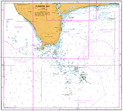 AUS 116 - West and South Coast Nautical Chart