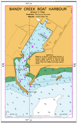 AUS 119 - Approaches to Esperance Nautical Chart